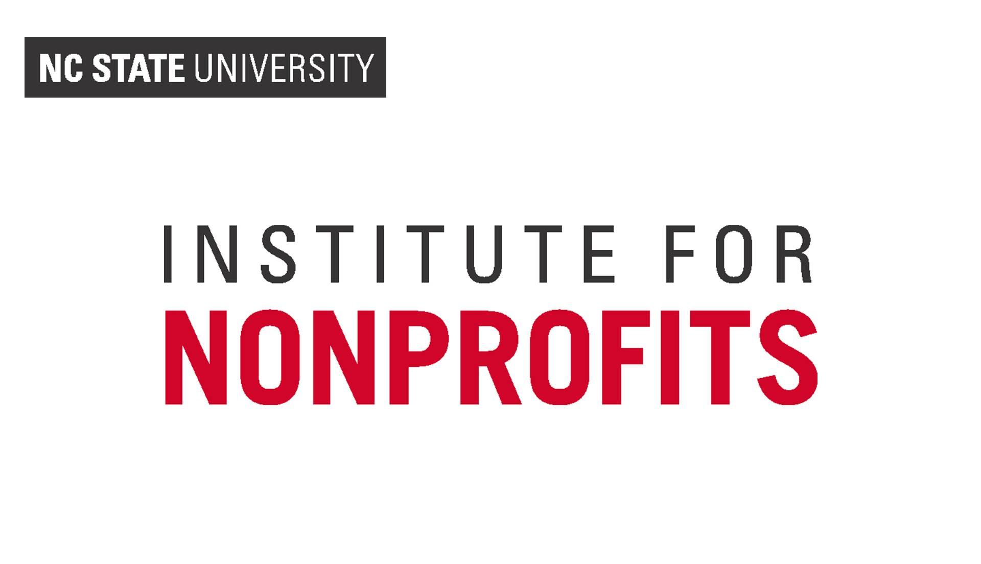 NCSU Institute for Nonprofits
